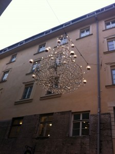 Chandelier in Innsbruck