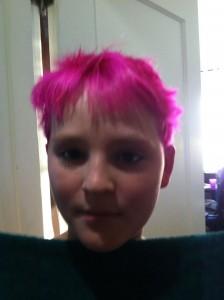 Yates Pink Hair